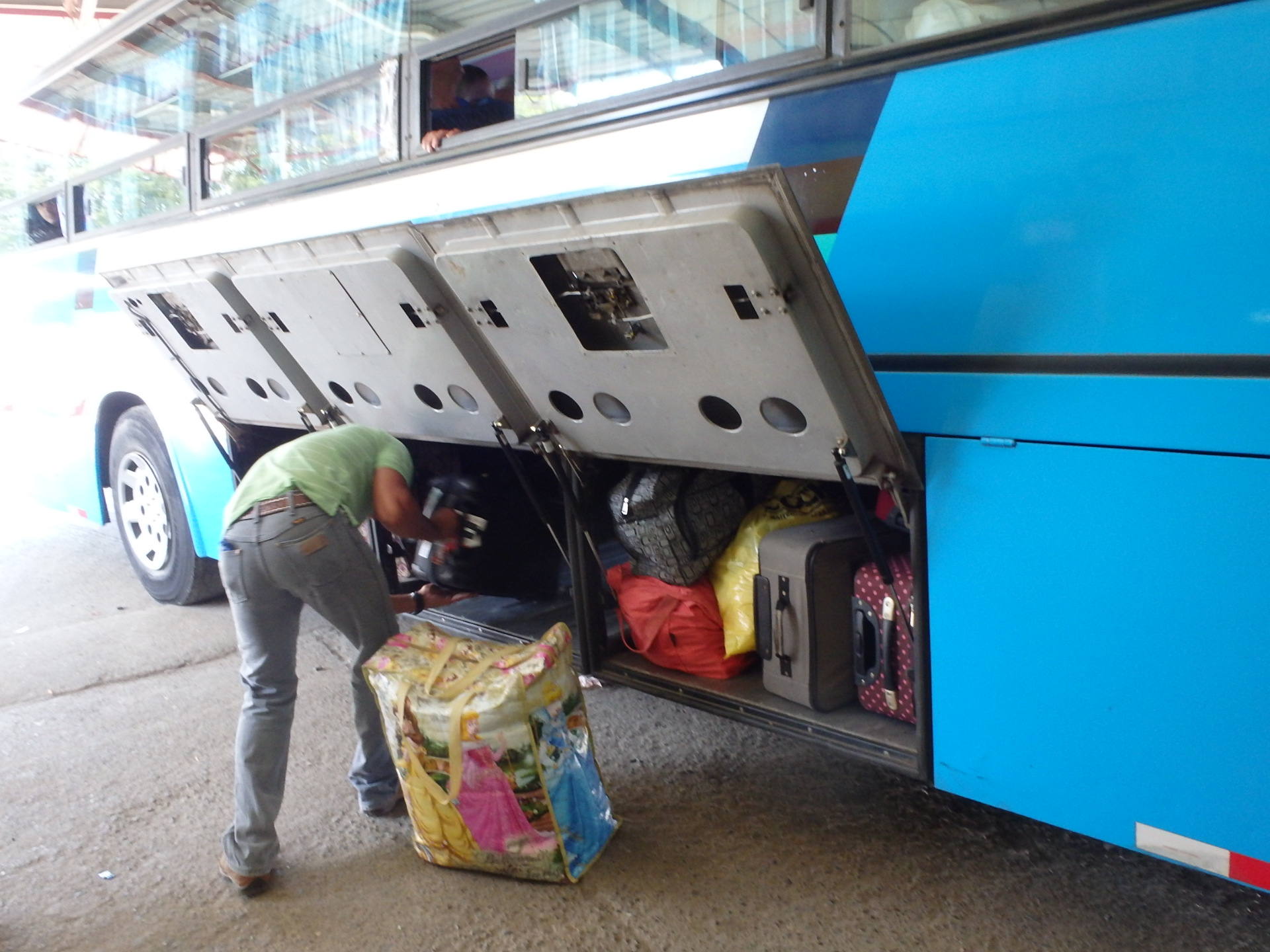 Bus from Panama City to Las Tablas